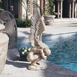 Remembrance and Redemption Angel Sculpture: Large