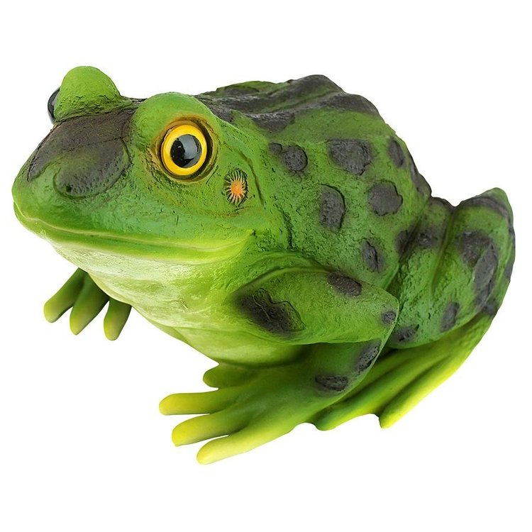 View larger image of Ribbit the Frog, Garden Toad Statue