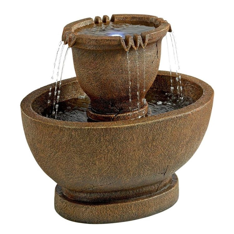 View larger image of Richardson Oval Urns Cascading Garden Fountain: Grande