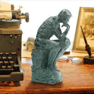 Rodin's Thinker Statue Inspired by the original by Auguste Rodin