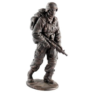 Salute to Our Heroes Military Soldier Statue