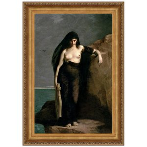 Sappho, 1877: Canvas Replica Painting: Large