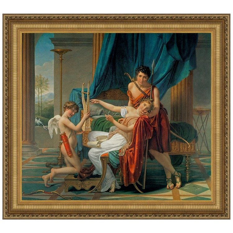 View larger image of Sappho and Phaon, 1809: Canvas Replica Painting: Medium