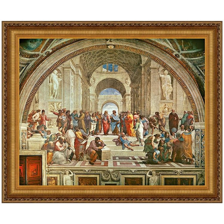 View larger image of The School of Athens, 1510: Canvas Replica Painting