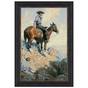 Sentinel of the Plains, 1906: Canvas Replica Painting: Large