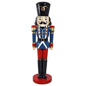 Sergeant-at-Arms 6-Foot Nutcracker Soldier Statue