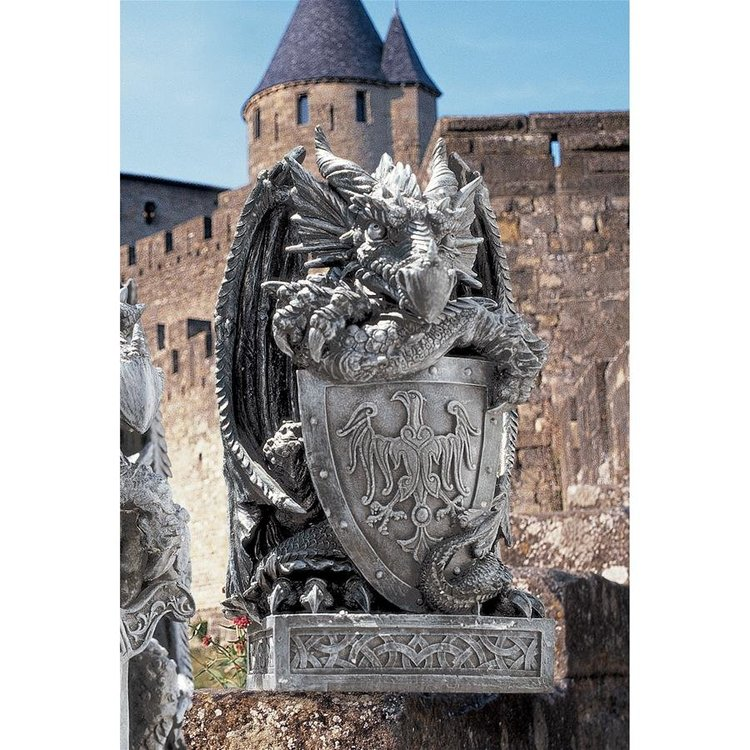 View larger image of The Arthurian Dragon Statues
