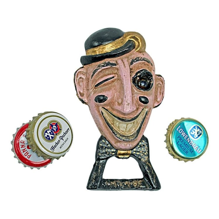 View larger image of Shiner, the Smart-aleck Cast Iron Bottle Opener