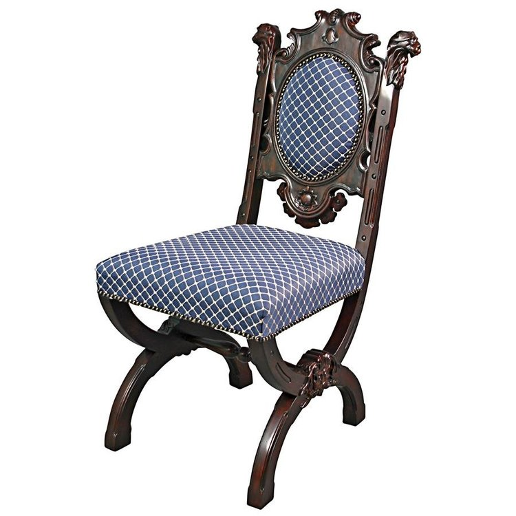 View larger image of Sir Raleigh Hand-Carved Medieval Dining Chair
