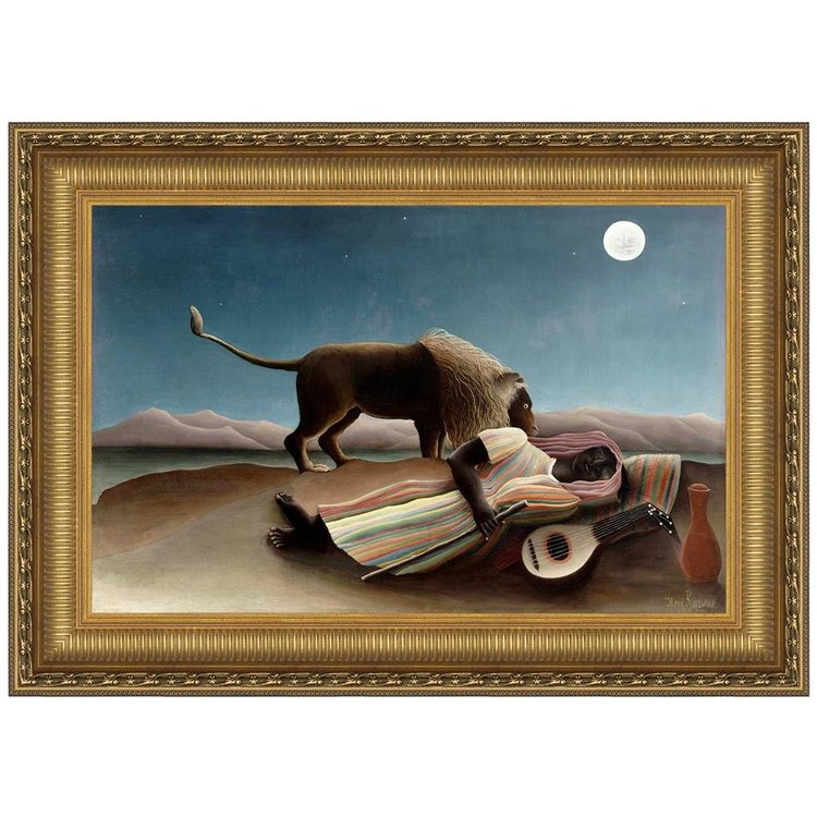 View larger image of The Sleeping Gypsy, 1897: Canvas Replica Painting