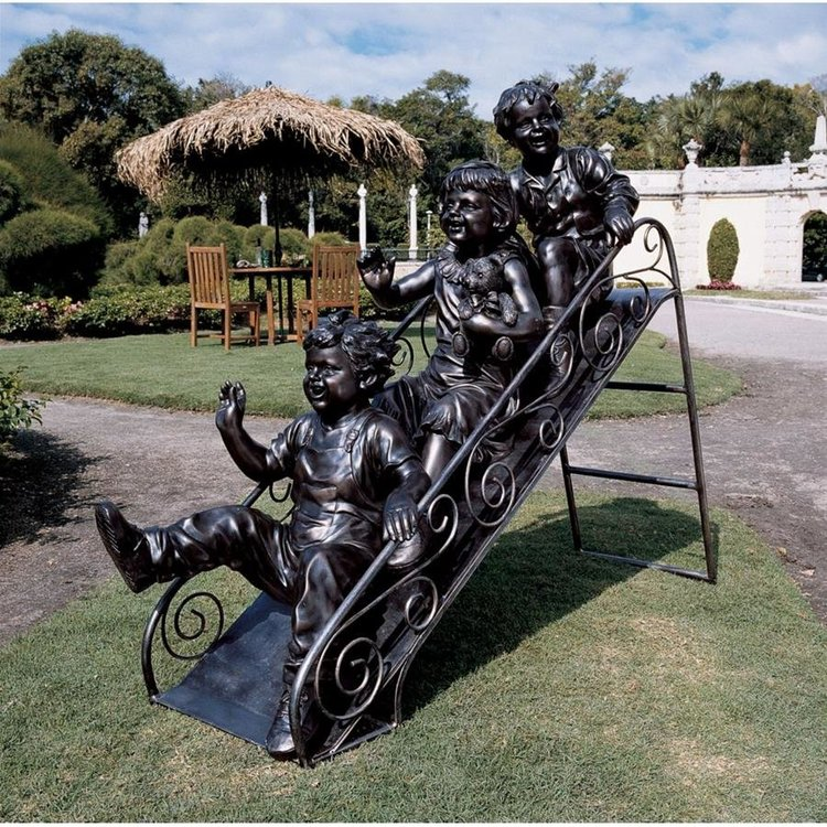 View larger image of Sliding Into Summer Sculpture