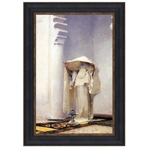 Smoke of Ambergris, 1880: Canvas Replica Painting: Large
