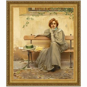 Sogni (Dreams), 1896: Canvas Replica Painting: Large