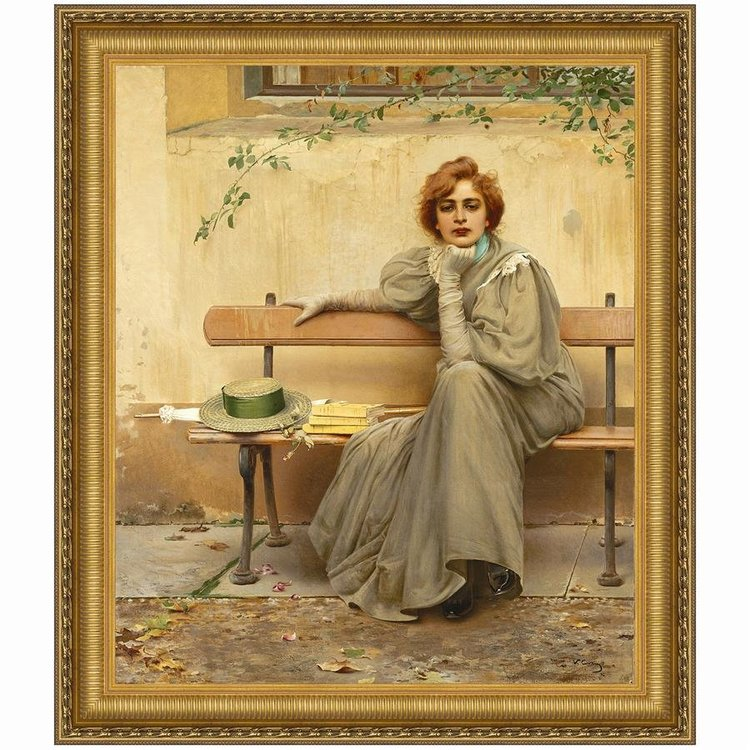 View larger image of Sogni (Dreams), 1896: Canvas Replica Painting: Medium