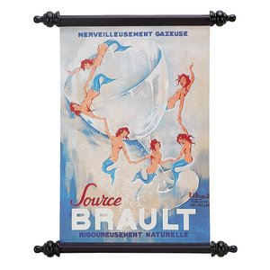 Source Brault (1938) Canvas Wall Scroll