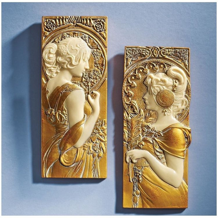 View larger image of Spring and Autumn Wall Sculptures