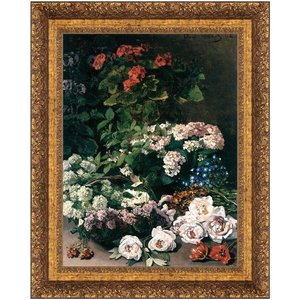 Spring Flowers, 1864: Canvas Replica Painting: Small