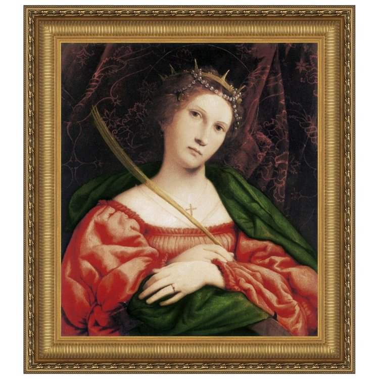 View larger image of St. Catherine of Alexandria, 1523: Canvas Replica Painting