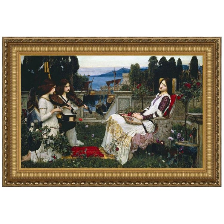 View larger image of St. Cecilia, 1895: Canvas Replica Painting: Grande
