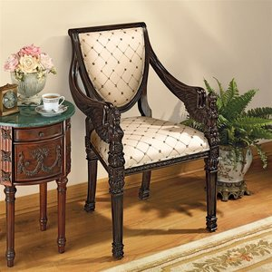 St. Gabriel Neoclassical Armchairs