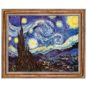 Starry Night, 1889: Canvas Replica Painting: Estate