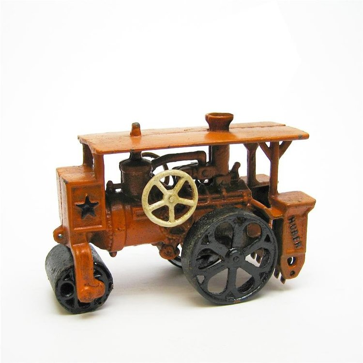 View larger image of Steam Roller Replica Cast Iron Farm Toy Tractor