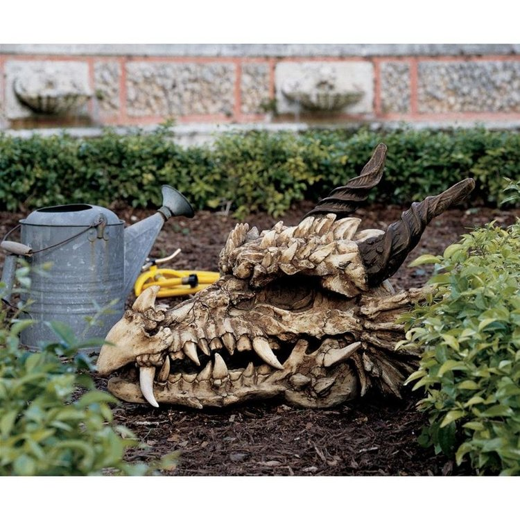 View larger image of Stoker's Moors Dragon Skull Sculptures