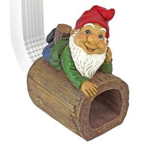 Stormy the Gnome Gutter Guardian Downspout Statue