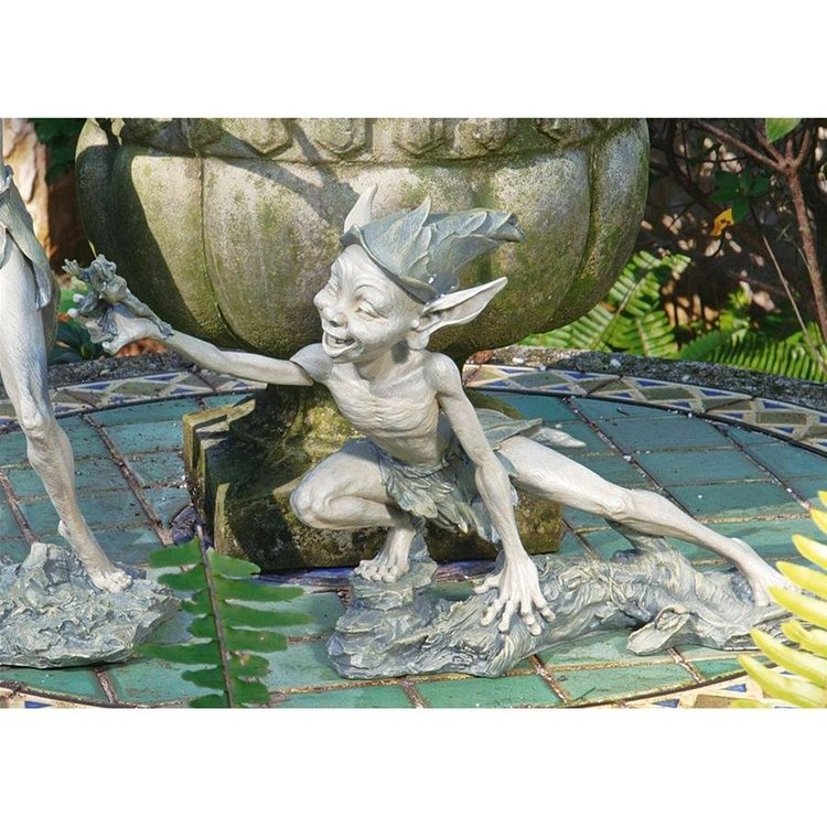 View larger image of Stretch Garden Pixie Sculpture