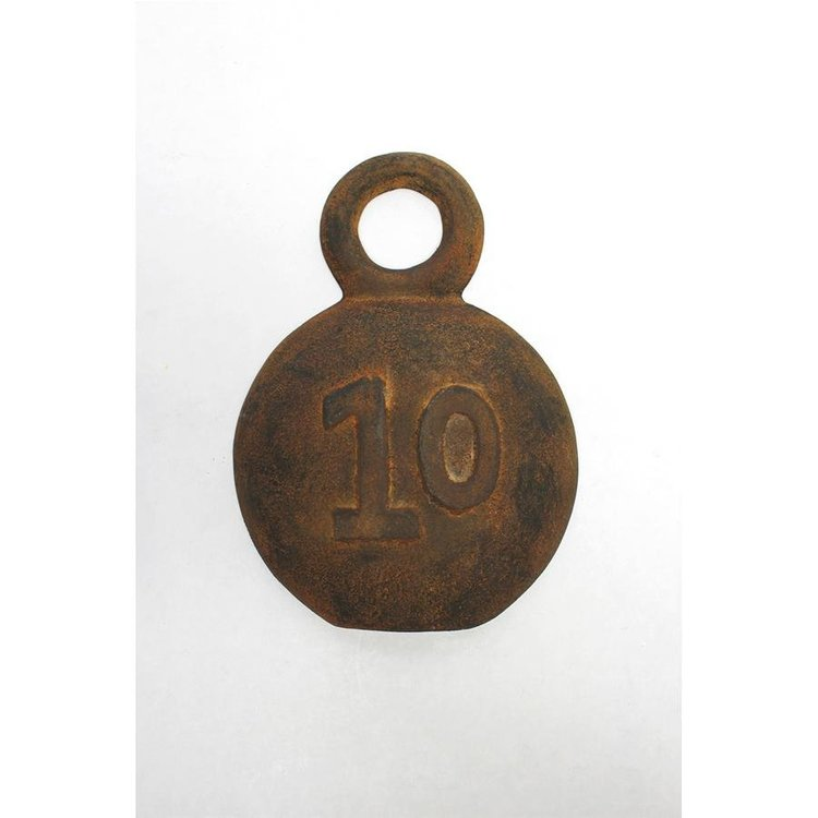 View larger image of Strongmen Number 10 Cast Iron Industrial Weight