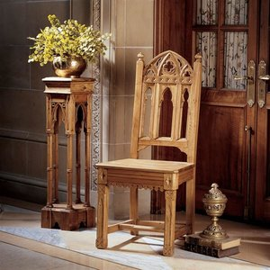 Sudbury Hand-Carved Gothic Side Chairs