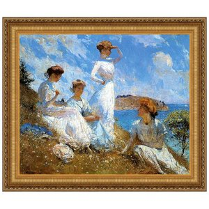 Summer, 1909: Canvas Replica Painting: Small