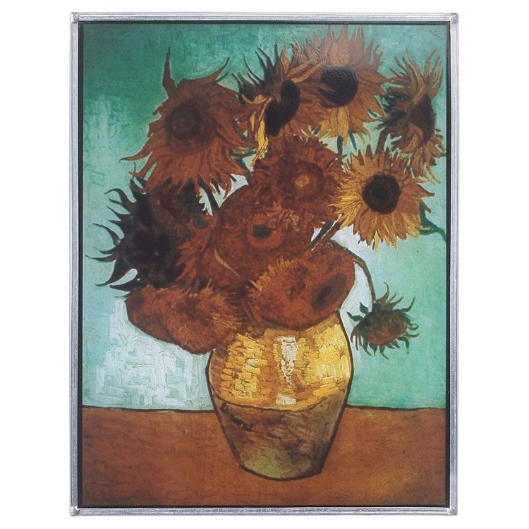 View larger image of Sunflowers Art Glass