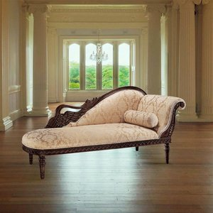 Swan Fainting Couch: Right
