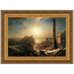 Syria by the Sea, 1873: Canvas Replica Painting: Medium