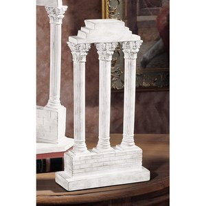 Temple of Castor and Pollux Column: Straight
