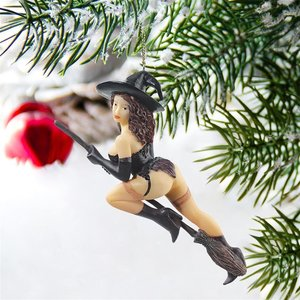 Temptress Witch Holiday Ornament