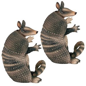 Tex the Armadillo Beverage Holder: Set of Two