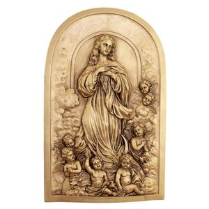 The Assumption of Mary Magdalene Wall Sculpture
