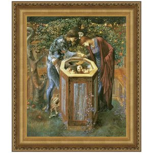The Baleful Head, 1886: Canvas Replica Painting: Small