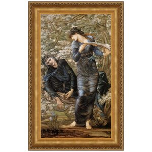 The Beguiling of Merlin, 1874: Canvas Replica Painting: Medium