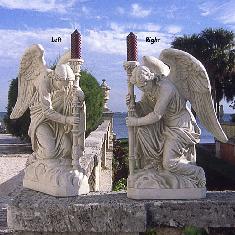 View larger image of The Bergama Renaissance Angel Statues: Set of Two