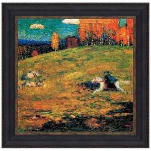 The Blue Horseman, 193: Canvas Replica Painting: Large