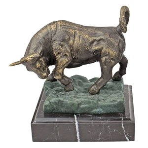 The Bull of Wall Street Cast Iron Statue