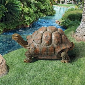 The Cagey Tortoise Statue
