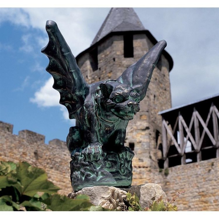 View larger image of The Castle Gate Gargoyle Statue