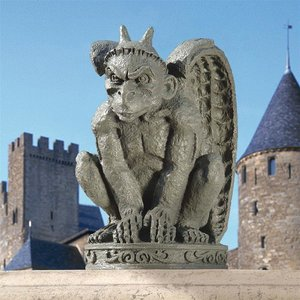 The Cathedral Gargoyle Statue