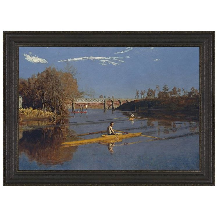 View larger image of The Champion Single Sculls, 1871 Canvas Replica Painting: Large