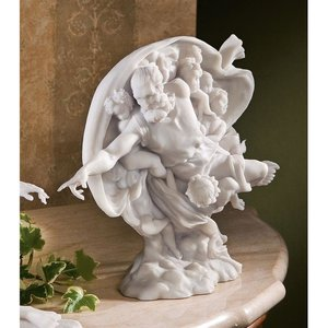 The Creation of Adam Bonded Marble Resin Statues: God