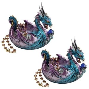 The Dragon of Wharncliffe Crags Offering Vessel: Set of Two